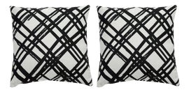 Image of Black Outdoor Pillows