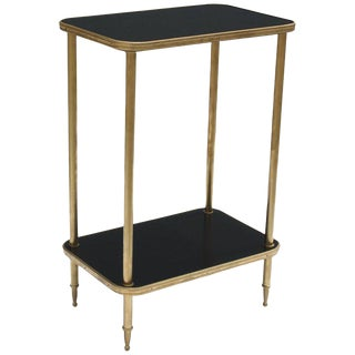 French Art Deco Side Table or End Table by Maison Jansen, Circa 1940s
