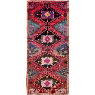 "Vintage Persian Kurd Rug – Size: 3' 3"" X 7'7"" For Sale"