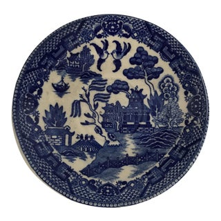 Vintage Blue Willow Saucer