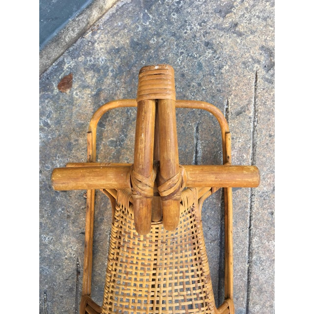 Bamboo Franco Albini Rocking Horse For Sale - Image 7 of 8