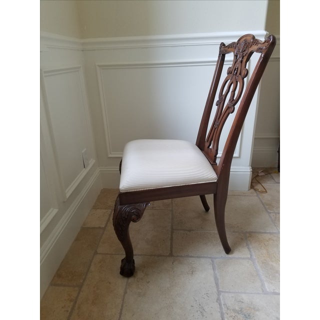 Ethan Allen Chauncey Dining Chairs - Set of 6 - Image 10 of 11