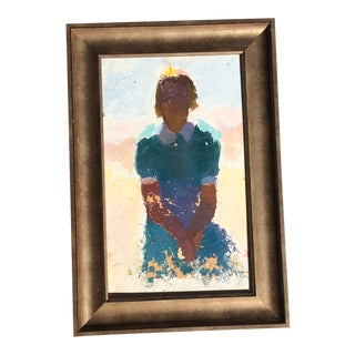 "Antique Provincetown ""Mudhead"" Oil Painting, C.1930 For Sale"