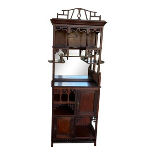 Late 19th Century English Arts and Crafts Etagere For Sale