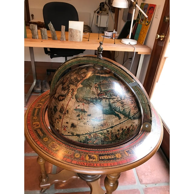 1970s Mid-Century French Globe Bar - Image 4 of 11
