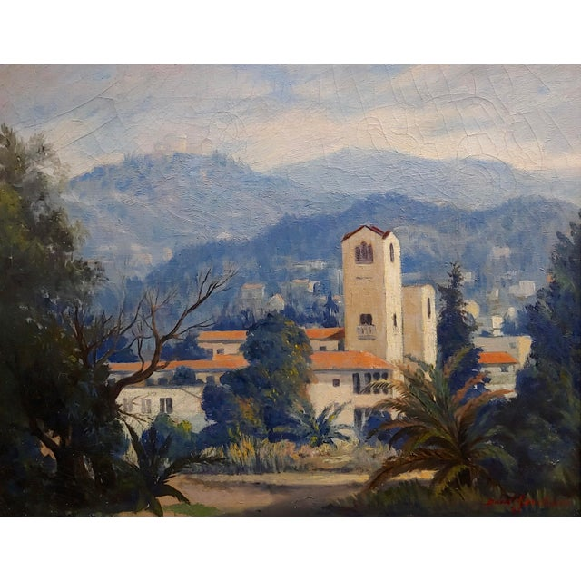 Americana David Gershuni - Griffith Park, Los Angeles 1930s-Oil Painting For Sale - Image 3 of 9
