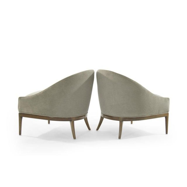 Mid-Century Modern Mid-Century Modern Lounge Chairs in Mohair, 1950s For Sale - Image 3 of 13