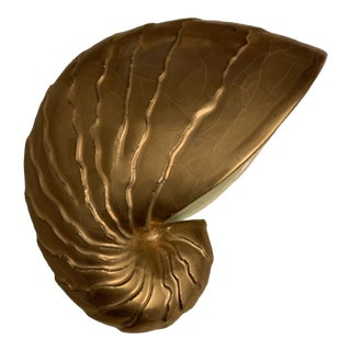 1980s Shell Home Decor Sculpture For Sale
