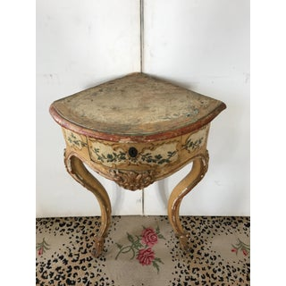 18th C. Italian Painted Corner Stand Preview