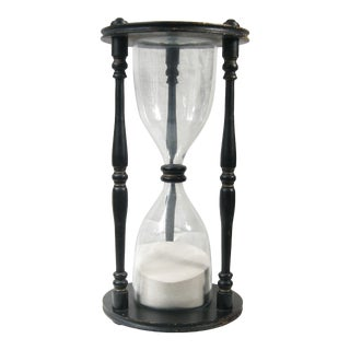 Grand Wooden Hourglass For Sale