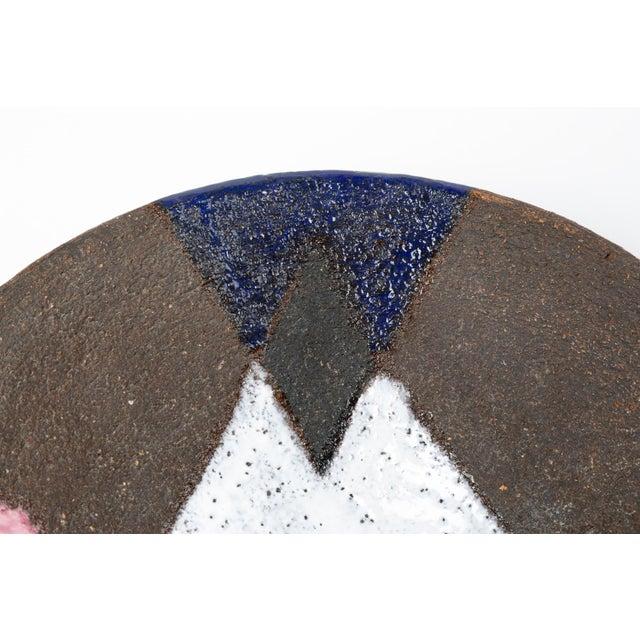 White Bitossi Patchwork Glazed Stoneware Bowl For Sale - Image 8 of 11