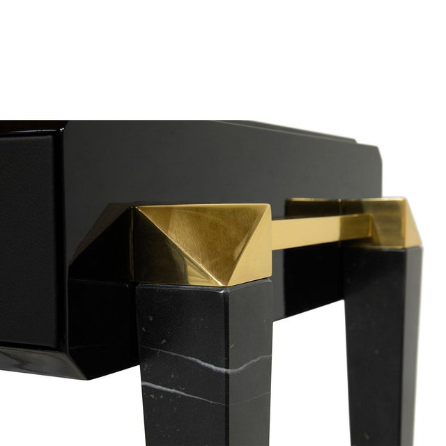 Traditional Spear Side Table From Covet Paris For Sale - Image 3 of 4