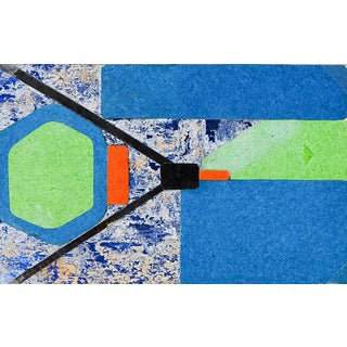 Small Robert DuPerrier Abstract Mixed Media Collage For Sale