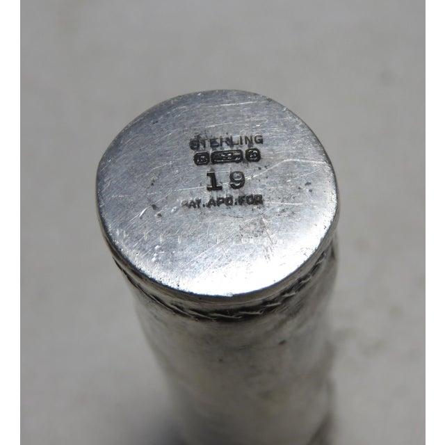 Silver Reed & Barton Sterling Silver Golf Club Bag Bottle Opener & Corkscrew For Sale - Image 8 of 13