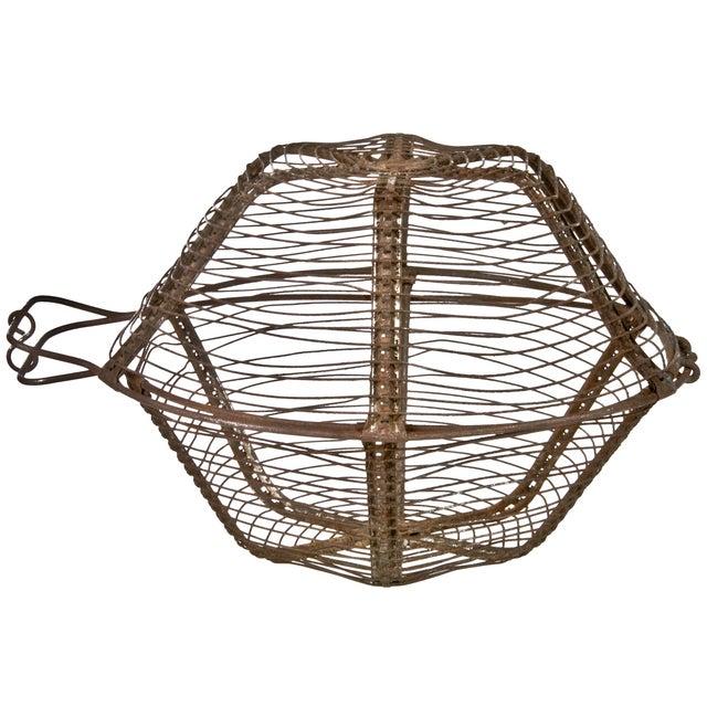 French Wirework Salad Basket - Image 2 of 3