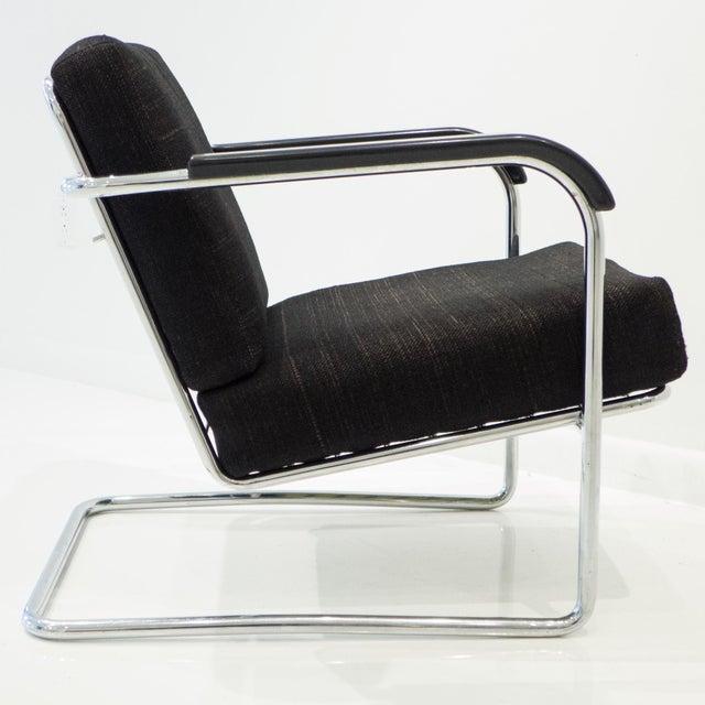 Werner Max Moser Tubular Steel Armchair for Embru Werke - Image 6 of 11
