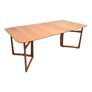 Mid-Century Modern Peter Hvidt & Orla Mølgaard Nielsen Gate-Leg Dining Table For Sale
