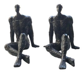 Image of Newly Made Bronze Sculpture