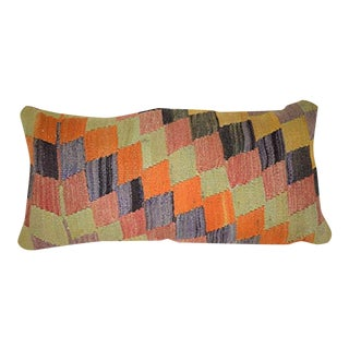 Lumbar Pillow Cover 12 X 24 Inches 30 X 60 CM Bohemian Vintage Pillow Cover Throw Pillow Turkish Kilim Pillow For Sale