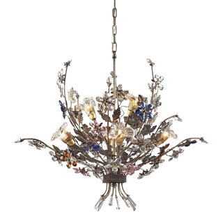 Elk Lighting Six Light Chandelier For Sale
