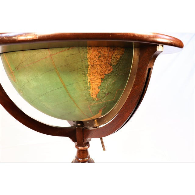 Early 1900's Williams-Pridham Index Globe For Sale In Chicago - Image 6 of 12