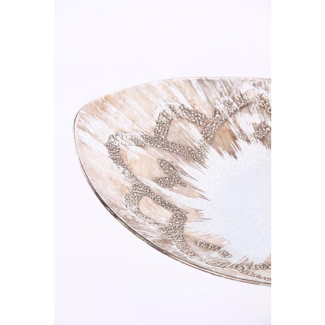 1960's Vintage Dorothy Thorpe Sterling Ovoid Bowl For Sale In New York - Image 6 of 8