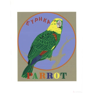 Robert Indiana, Parrot -1997 Serigraph For Sale