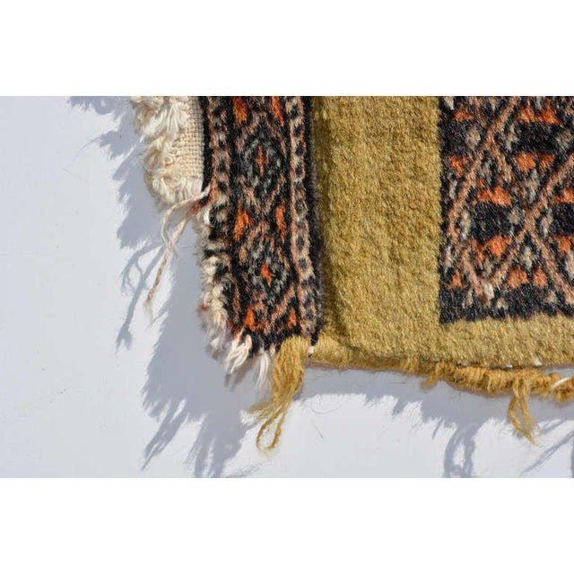 Persian Carpet Runner, Signed, 1940s For Sale In San Diego - Image 6 of 9