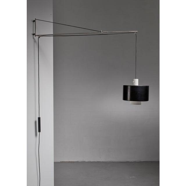 Mid-Century Modern Gaetano Sciolari Wall Lamp for Stilnovo, Italy, 1950s For Sale - Image 3 of 8