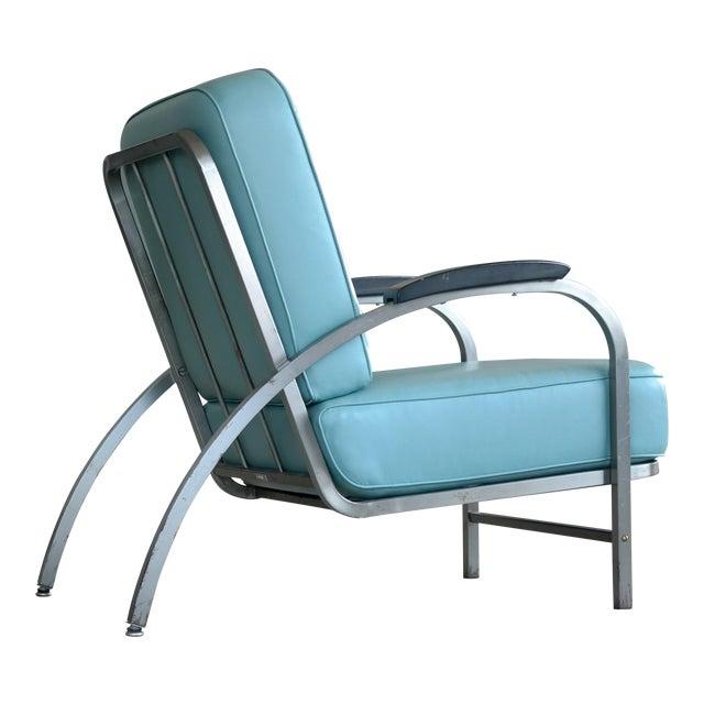 Retro Mid Century Modern Art Deco Chair For Sale