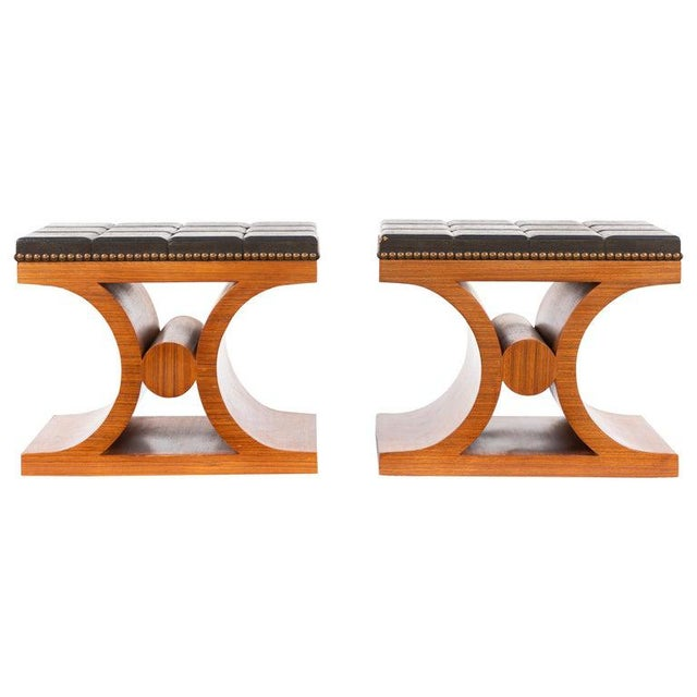 Mid-Century Modern Benches- A Pair For Sale - Image 13 of 13