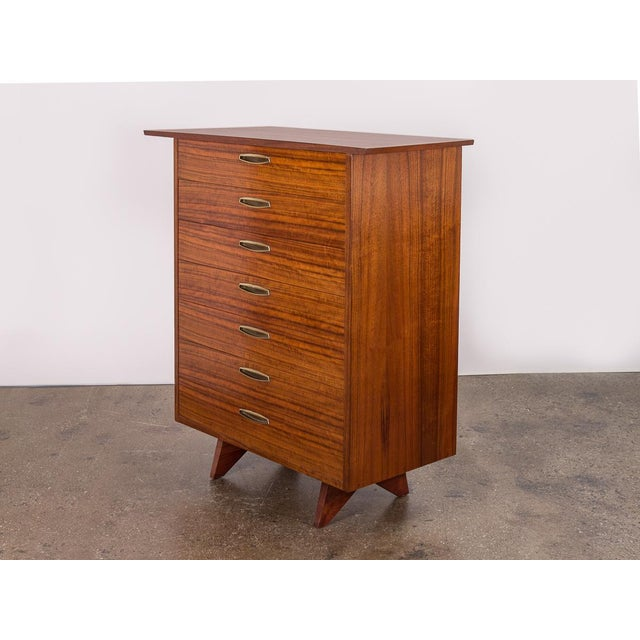 George Nakashima Origins Tall Dresser for Widdcomb For Sale - Image 11 of 11