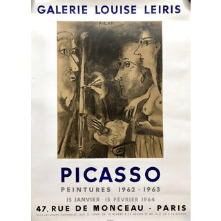 Picasso Poster Galerie Louise Leiris Mourlot, 1964