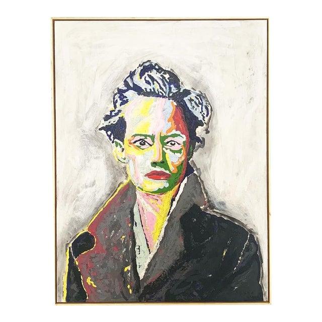 John O'Hara. Av. Encaustic Painting. For Sale