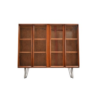Mid-Century Display Hutch/Bookshelf For Sale
