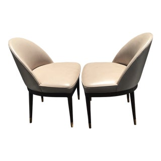 """Suzanne Kasler for Hickory Chair Co. Art Deco """"Laurent"""" Chairs - a Pair"""