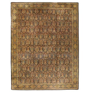 Antique Late 19th Century Oversize North Indian Carpet For Sale