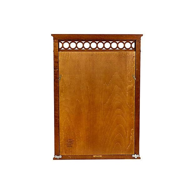1960s Kindel Furniture Wall Mirror For Sale - Image 5 of 5