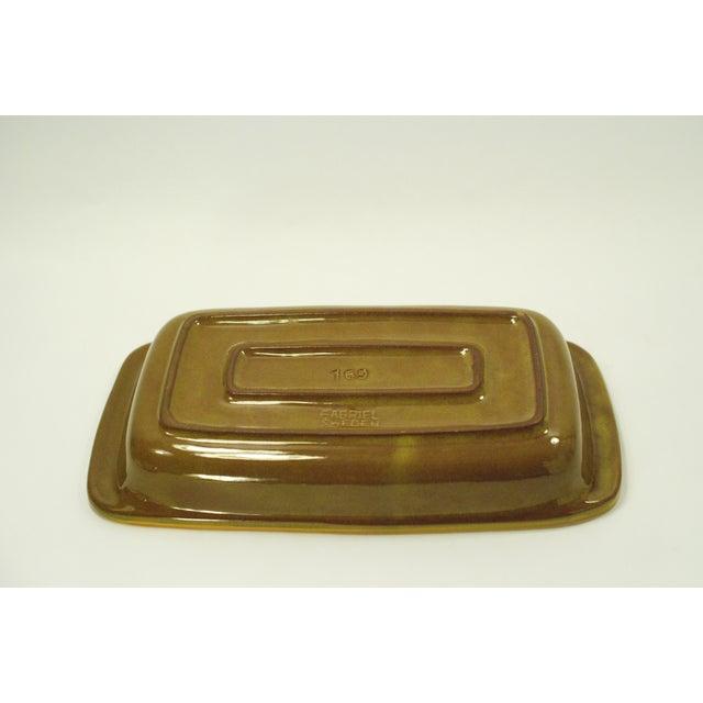 MCM Swedish Yellow/Orange Stoneware Tray - Image 5 of 6