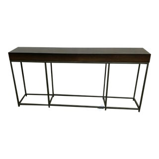 Transitional Vanguard Furniture Zoe Console Table For Sale