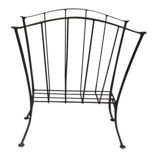 Black Metal Magazine Rack For Sale