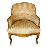 Image of 19th Century Vintage Tub Chair For Sale