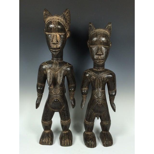 Ivory Coast African Dan Statues - A Par - Image 3 of 11
