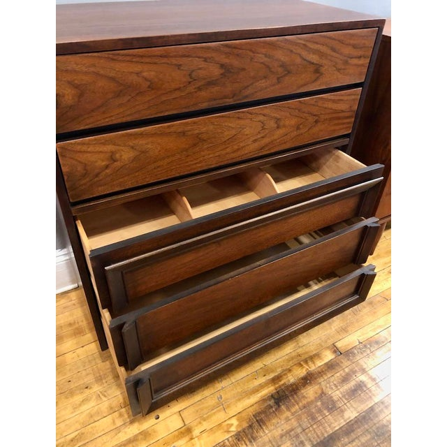 Mid Century Modern Tall Chest/Dresser by Basic Witz 1960's For Sale - Image 4 of 7
