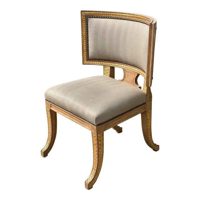 Quatrain by Dessin Fournir Swedish Neoclassical Style Side Chair For Sale