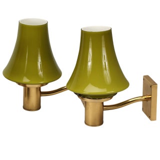 Pair of Wall Lights by Hans-Agne Jakobsson For Sale