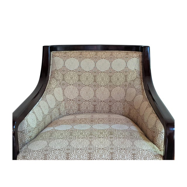 Barbara Barry for Baker Furniture Salon Chairs - a Pair For Sale - Image 9 of 13