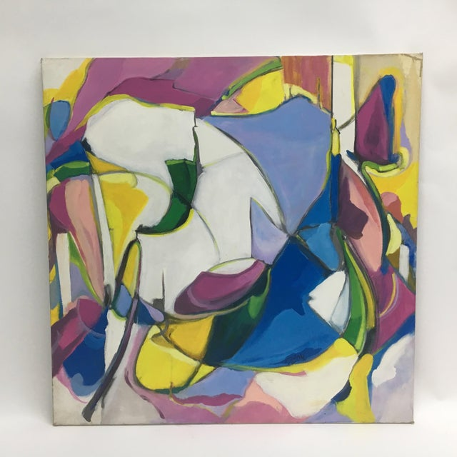 On presentation is the strong and heavily complex abstract works of the late Deon Robertson. A Long Beach, California...