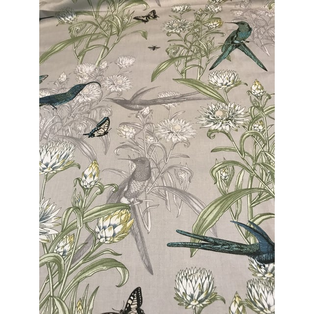 Tan Blendworth Menagerie Enchanted Forest Cotton Fabric 6 Plus Continuous Yards For Sale - Image 8 of 10