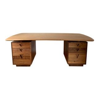 Contemporary Scandinavian HD Buttercup Tanker Desk For Sale